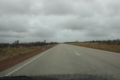 100 km marker (iainrmacaulay) Tags: highway australia barkly