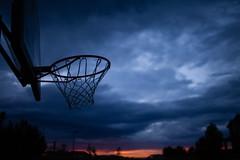 The Twilight Of His Career (espressoDOM) Tags: sunset basketball hoop colorado curry denver h kobe nba castlerock hoopdreams