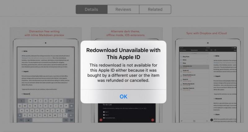 """ដំណោះស្រាយងាយៗ ពីបញ្ហាមិនអាចដោនឡូតកម្មវិធីបាន """"Redownload Unavailable"""""""