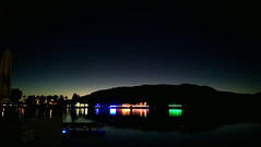 Christmas Lights across the River (Ms. Jen) Tags: arizona reflections lights december unitedstates christmaslights coloradoriver parker 2015 lumia photobyjeniferhanen lumia1020 nokialumia1020 december2015 msjencom