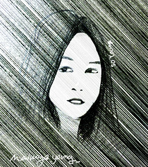 soyoung (younghwanlee) Tags: portrait illustration drawing