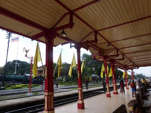 Hua Hin railway station, Thailand