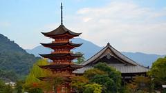Isukushima Hiroshima, Japan (GeorgeChoy Photography) Tags: travel autumn japan shrine hiroshima isukushima