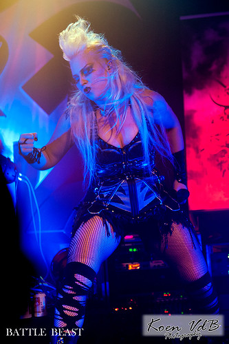 Battle Beast @ Biebob 04122015