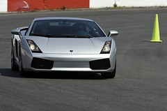 Lambo (Bert de Tilly nikon shooter) Tags: sport race track power security motor workout lamborghini lambo weels steeustache greylambo