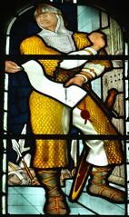 [45659] St Editha, Tamworth : Marmion Windows (Budby) Tags: tamworth staffordshire church window stainedglass preraphaelite