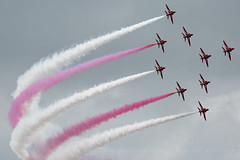 Hawks of the RAF Red Arrows (JaffaPix +5 million views-thanks...) Tags: hawk raf redarrows riat riat2016 royalinternationalairtattoo ffd egva airshow aircraft airplane aeroplane davejefferys jaffapix jaffapixcom fairford aviation jafapixcom