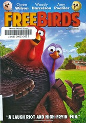 Free Birds (Vernon Barford School Library) Tags: jimmyhayward scottmoiser woodyharrelson owenwilson danfogler turkey turkeys bird birds holiday holidays food foods poultry tradition traditions traditional drama dramas comedy comedies animation animated animations timetravel vernon barford library libraries new recent video videos film films junior high middle school covers cover videocase videocases dvd dvds dvdcase dvdcases fiction fictional movie movies motionpicture motionpictures
