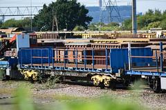 93274 Hoo Junction 010916 (Dan86401) Tags: 93274 nlu93274 93 kfa intermodal modal container flat wagon nlu nationallogisticsunit rautaruuki nr networkrail hoojunction
