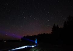 Stargazing on the Beach (BrianWalsh12) Tags: widefieldstarscape longexposure starscape beach landscape stargazing flashlight landscapephotography water stars outdoors newbrunswick sea ocean nature naturephotography