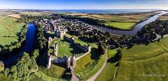 "Warkworth (""Mark Hume"") Tags: mark hume warkworth english heritage northumberland drone dji phantom3"