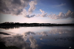 la palude (francescabonucci) Tags: paesaggio palude acqua nuvole natura luceeombre riflessi