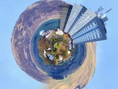 Drumchapel Skyline (Michelle O'Connell Photography) Tags: drumchapel glasgow scotland skyline drumchapelwatertower linkwoodflats tinyplanet michelleoconnellphotography