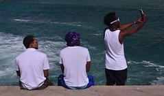Say Cheese! (Ctuna8162) Tags: teeshirts chile beach playa antofagasta guys cellphones selfies photographer sunglasses