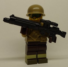 Weird War II US Allied Trooper with XM1915 Colt-Vickers (enigmabadger) Tags: brickarms lego custom minifig minifigure fig weapon weapons accessory accessories combat war proto prototype protoz wwii scifi sciencefiction citizen brick crazybrick crazy arms