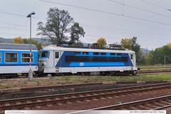 242.264-0 | Os4978 | trať 250 | Tišnov (jirka.zapalka) Tags: train trat250 tisnov czech autumn cd stanice rada242 os