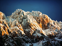 Snow covered Alpine peaks (Katarina 2353) Tags: landscape alps france katarina2353 katarinastefanovic film nikon