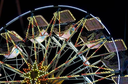 #lunapark #invacanzadiserasivasullegiostre #pentax #k50 #50mm #nofilter #notturno #6400iso