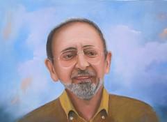 Il mio amico Fabio dipinto a olio (Renoil L.) Tags: amico ritratto volto dipintoolio portrait friend