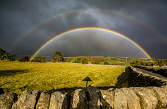 Rainbow (peterclayton2512) Tags: rainbow weather colour stunning nature yorkshire sunshine sky colors in our world colorsinourworld