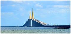 Sunshine Skyway Bridge - St Petersburg, Florida (lagergrenjan) Tags: sunshine skyway bridge st petersburg florida