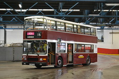 Lothian Buses 285 P285PSX (Will Swain) Tags: edinburgh central depot open day 24th september 2016 lothian bus buses transport travel uk britain vehicle vehicles county country scotland scottish north northern city centre garage shed yard visitors 285 p285psx preserved heritage