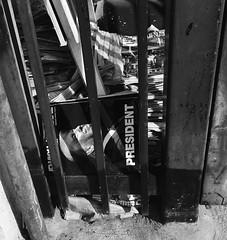 Trash (Shots by Jenae) Tags: iphonography iphoneshot blackandwhite blacknwhite shotoniphone shotwithiphone trash magazines newspapers news