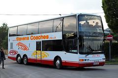Stevens, West Bromwich SUI 3227, MAN 24.350 in Cheltenham (majorcatransport) Tags: westernmidlandsbuses stevenswestbromwich man jonckheere cheltenham