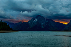 Jackson lake sunset (FJMaiers) Tags: sunset jackson lake grand teton national park