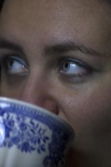 (Stefano Iacono) Tags: blue eyes tea people lady
