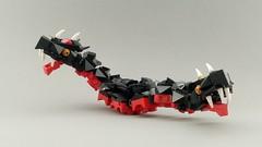 Amphisbaena (Dajo Twir) Tags: lego dragon knight amphisbaena