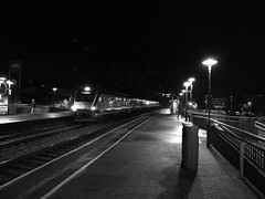 B&W train (Jasmin Mehic) Tags: train blackandwhite white black sandnes sandnessentrum jasminmehic huawei honor8 morning