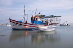 _A169988 (bl!kopener) Tags: portugal algarve santaluzia olympus omd em10 m43 mzuiko 918mmf4056 mft microfourthirds mirrorless 3x2 motion longexposure water boat nd1000 nd30 neutraldensityfilter bigstopper nd110 2016