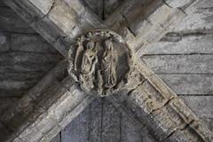 Clau de volta, claustre de la Seu Vella de Lleida (esta_ahi) Tags: lleida claustre claustro cloister seuvella ri510000156 catedral gtic gtico segri lrida spain espaa  claudevolta clave anunciaci anunciacin