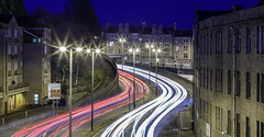 Trails.jpg (___INFINITY___) Tags: 2016 6d aberdeen architecture blue canon darrenwright dazza1040 eos infinity lighttrails longexposure night scotland