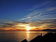 Atardecer en la costa (Antonio Chacon) Tags: andalucia atardecer costadelsol marbella mlaga mar mediterrneo espaa spain sunset