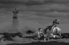 Stormy weather (firstlookimages) Tags: bw blackandwhite art artistic artisticmanipulation abstract digitalmanipulation digitalart digitalphotography detail blackwhite monochrome