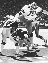 1978 St.Louis Cardinals @ Dallas Cowboys (Media Dugout) Tags: 1978 dallascowboys stlouiscardinals harveymartin jimhart waynemorris