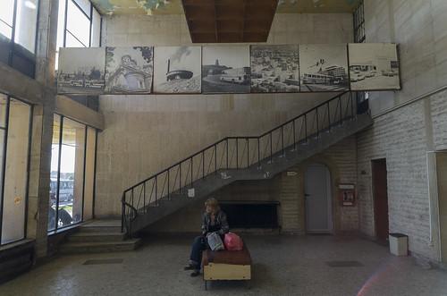 Interior of the Kazanlak bus station, 10.10.2014.