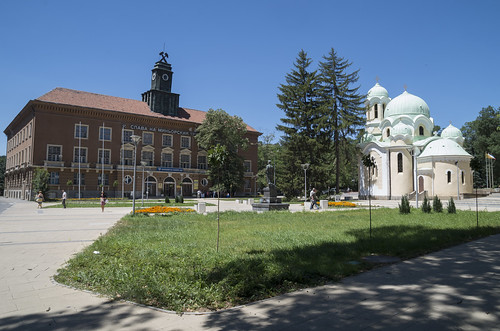 Mining Directorate and St. Ivan Rilski Church, 23.07.2015.