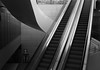Choose Your Way (Ren-s) Tags: escaliers stairs electric blackandwhite marches escalator lines lignes contrast belgique belgium bruxelles brussels europe metro station underground exit sorties maze labyrinthe