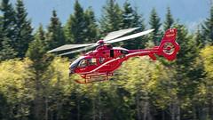 C-GBAI - Blackcomb Aviation - Eurocopter EC135 T2+ (bcavpics) Tags: cgbai blackcombaviation eurocopter ec135 t2 aviation aircraft helicopter chopper heli cyse squamish britishcolumbia canada bcpics