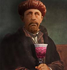 The drunk (jaci XIII) Tags: homem pessoa bebida vcio pintura vinho man person drink addiction wine painting