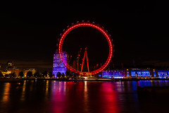 Round Round (coalphotography) Tags: 2016 alexanderlegaree coalphotography england europe london uk unitedkingdom riverthames thames londoneye eyeoflondon longexposure