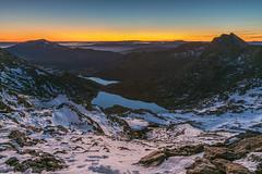 'Horseshoe Dawn' - Snowdonia (Kristofer Williams) Tags: landscape dawn mountains snowdonia snowdon twilight snow lakes snowdonhorseshoe wales