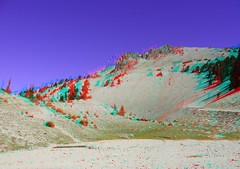 Lassen Volcano, 3D, red/cyan anaglyph (Edward Mitchell) Tags: lassen nationalpark volcano volcanic geology geological 3d stereoscopic vr vr3d anaglyph