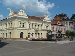Beregszász főtere (ossian71) Tags: ukrajna ukraine kárpátalja épület building műemlék sightseeing városkép city beregszász berehove