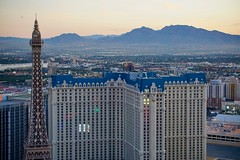 Room with a view (shinnygogo) Tags: 2016 destination lasvegas nevada travel vegas fauxparis hotels casino cityscape buildings desert sincity