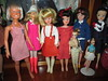 All my vintage girls together (Gothic Pixie) Tags: vintage kenner dusty sindy francie dawn