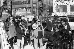 "Standing with Standing Rock (Xsbmrnr (Please read profile before ""following"") Tags: street streetphotography demonstration standingrock aboriginals indigenous blackandwhite bandw film black white 35mm 35mmfilm olympusom1 olympus om1 blazinal trix trix400"